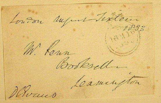 14: Evans, Sir George DeLacy (1787-1870) Lt.
