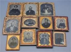~31 Ambrotype portraits.