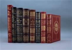 8 Books: Easton Press. Bronte, Irving, Fielding...