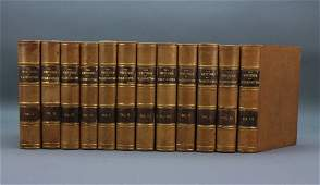 Sparks THE WRITINGS OF GEORGE WASHINGTON 12 Vols