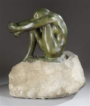 Auguste Rodin Le Desespoir bronze, Alexis Rudier.