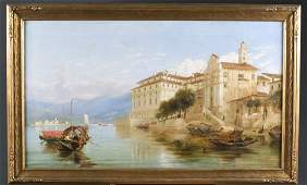 James Webb oc Borromeo Palace Isola Bella Lake
