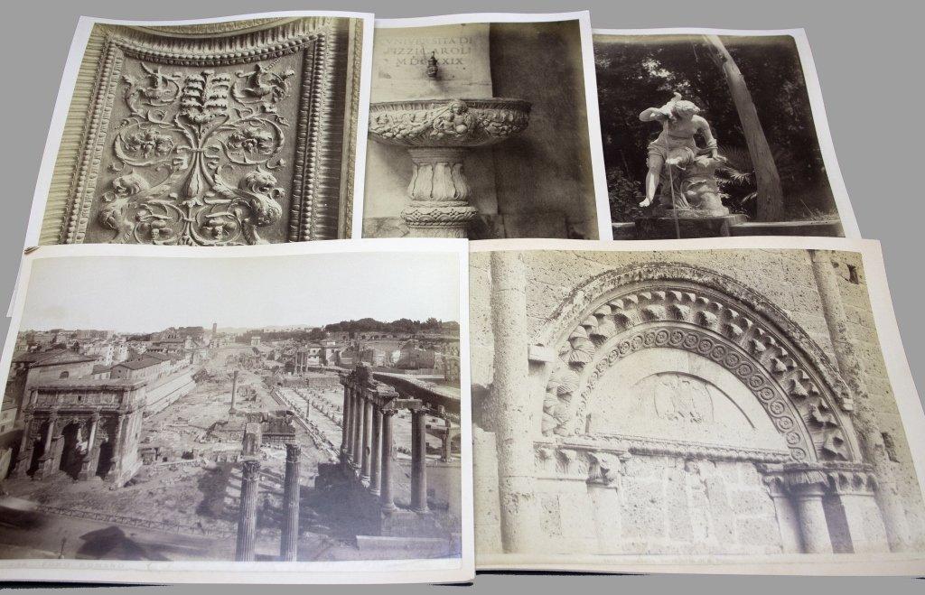 6 Items: Architectural photos, RICORDO DI VENEZIA.