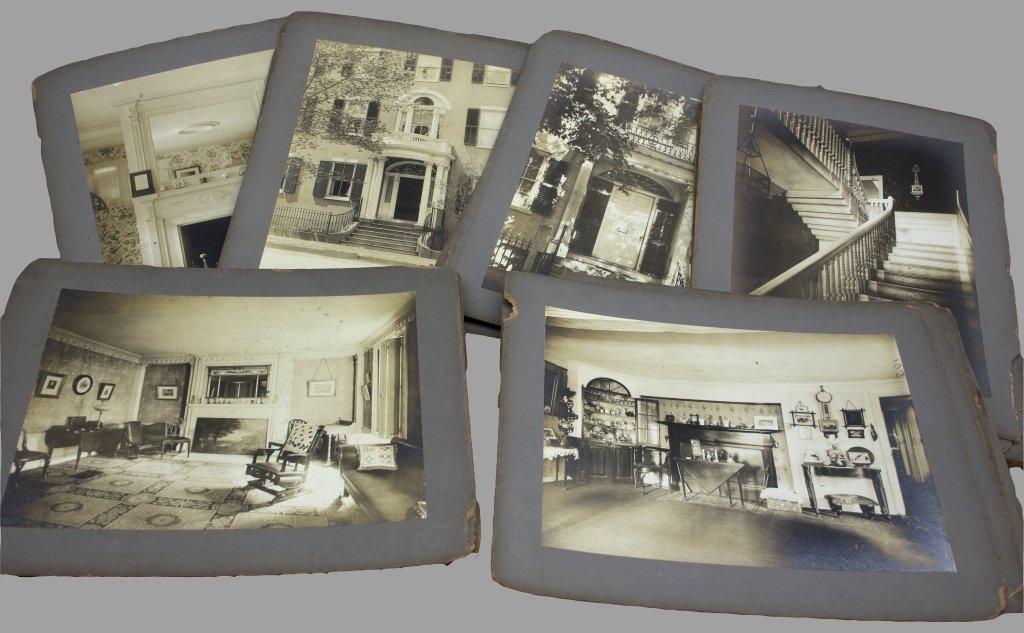 51 Photographs of architecture, interiors.
