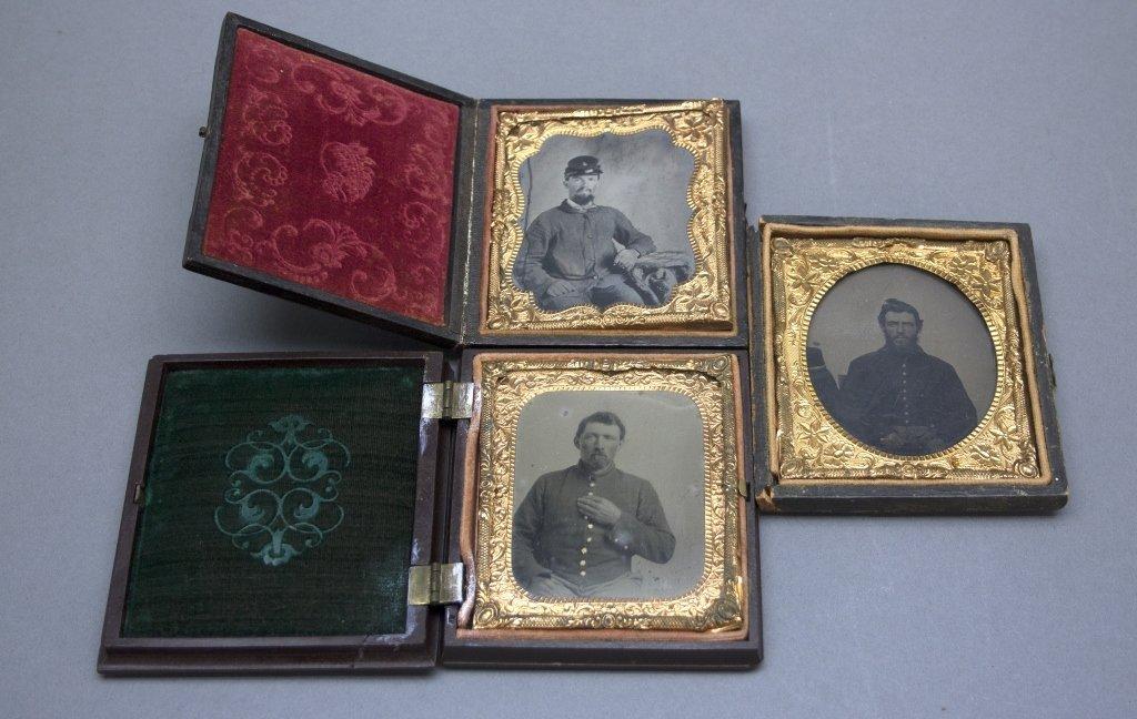 [Tintypes/Civil War/Soldier]. Tintype: Civil War.