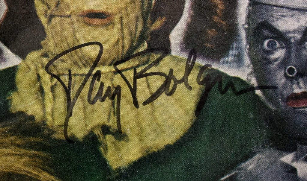 Signed by 6 actors: THE WIZARD OF OZ record album - 4