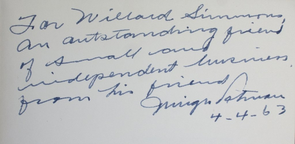 Franklin D. Roosevelt, Pen for Robinson-Patman Act - 4