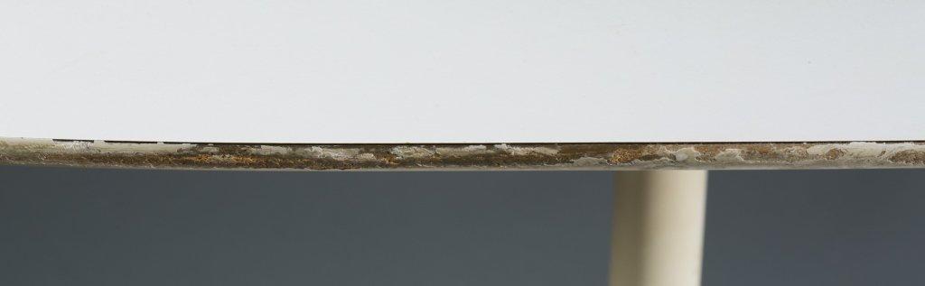 """An Eero Saarinen oval """"Tulip"""" table. - 4"""