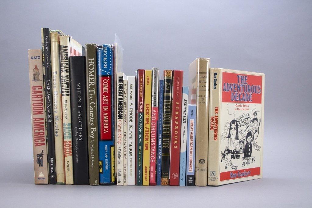 [American Culture in Cartoon & Illus.] 20 Vols.