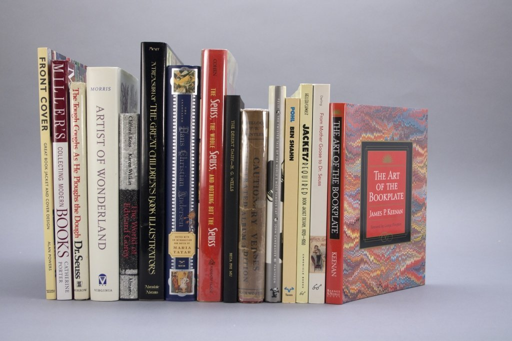 26 Vols: Books on books, sci fi, illustrators.