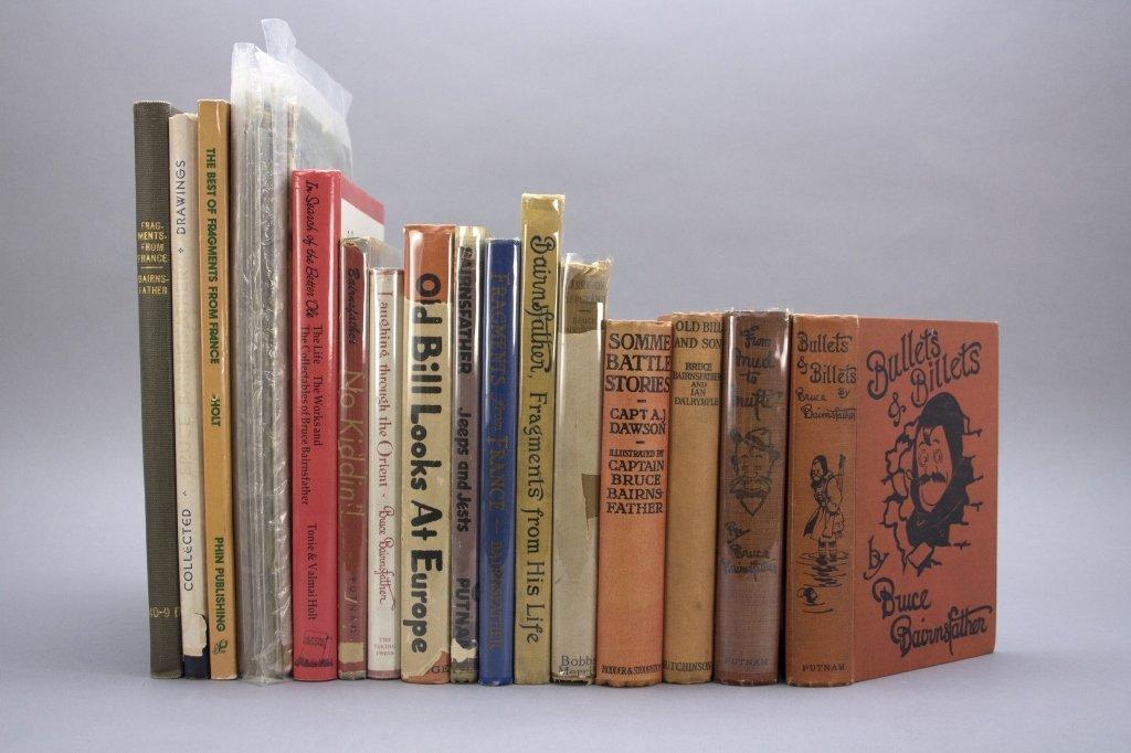 14 Books & 9 Magazines: Bruce Bairnsfather.