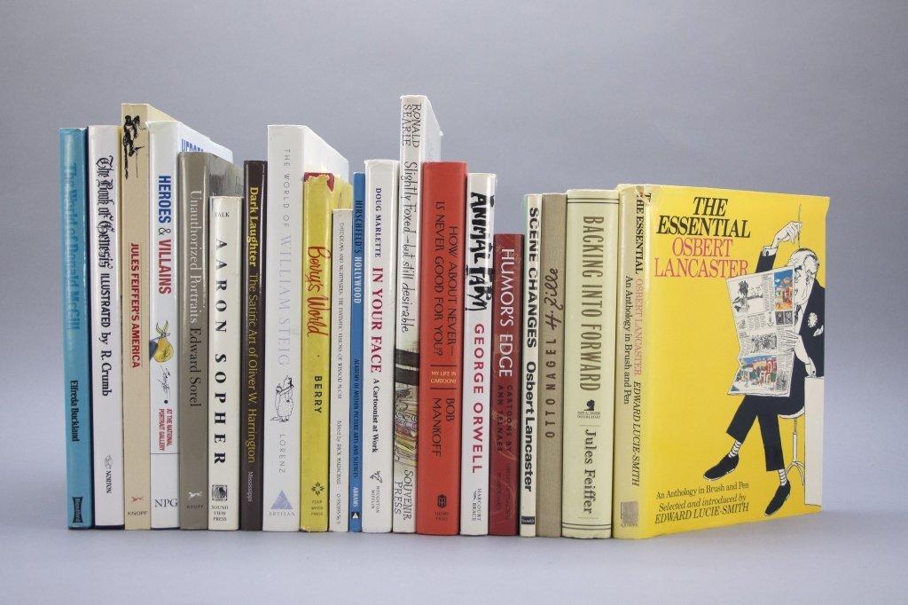 20 Vols: Steig Searle, Harrington, cartoonists.