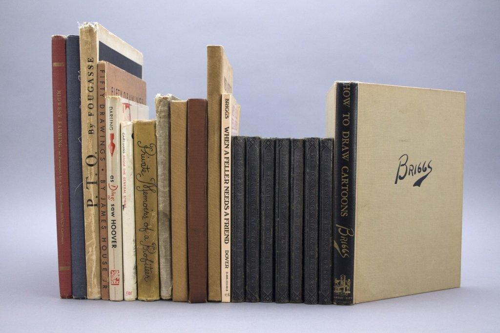 20 Vols: Briggs, House, 'Arnac, other cartoonists.