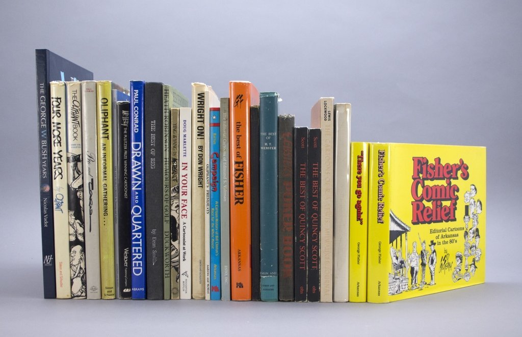 [Cartoonists] 26 Vols.