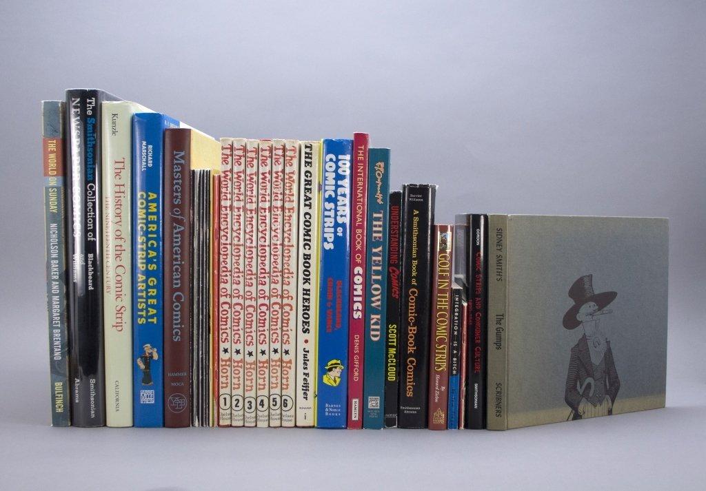 21 Vols & several softcover: Cartoons.