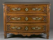 French 3 drawer chest.
