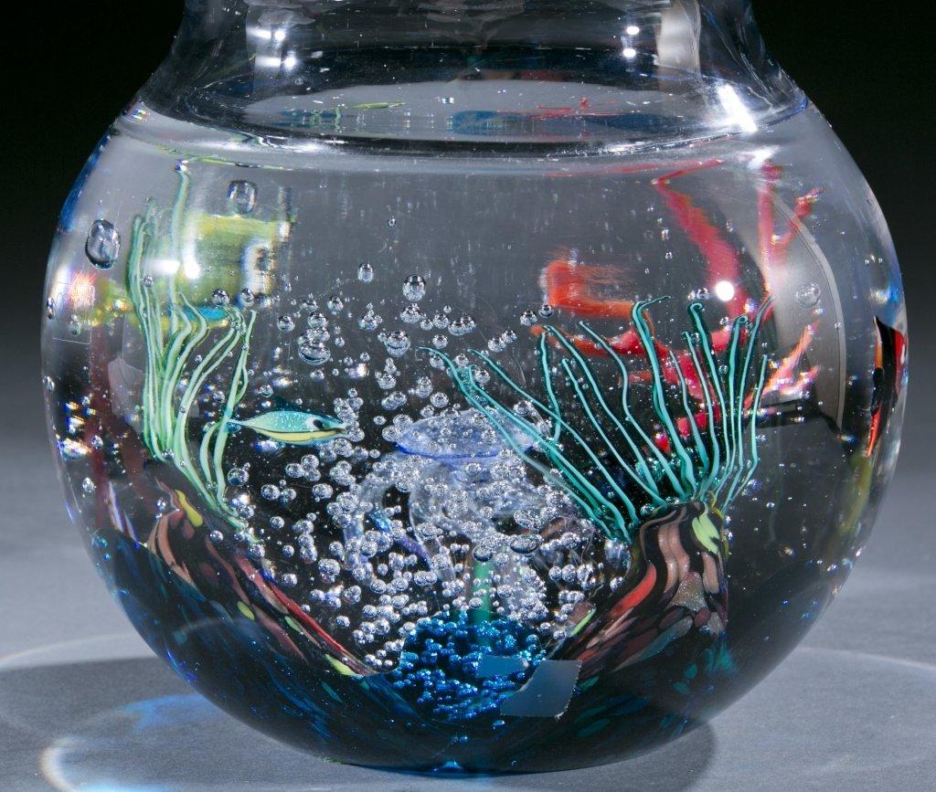Oggetti Murano glass fishbowl by Elio Raffaeli - 3