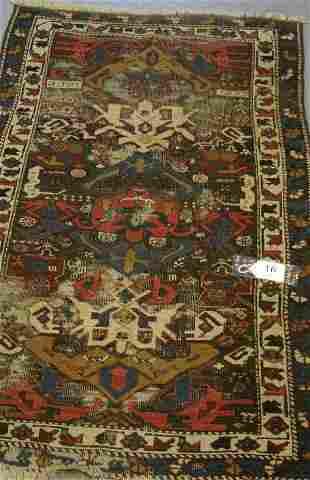 016: Caucasian handwoven carpet
