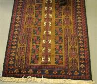 098 Baluchi Prayer Rug