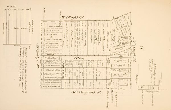 1004: Atlas Of Georgetown Plats Squares Subdivisions