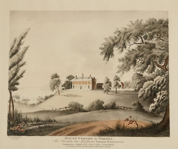1024: Mount Vernon In Virginia (after) Francis Lukes