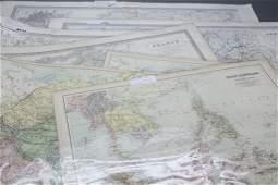 16 Maps World Mideast France Asia