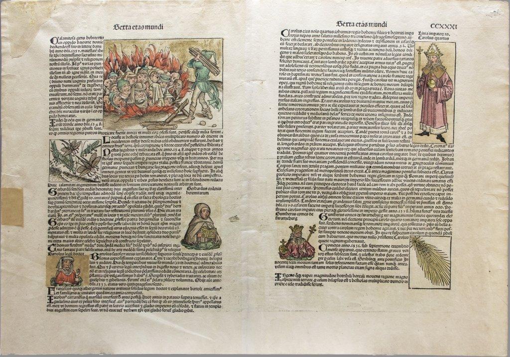 [Prague] Woodcut: Nuremberg Chronicle [1493]. - 3