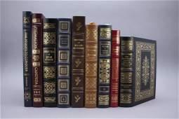 9 Easton Press: Orwell, Shaw, Gulliver's...