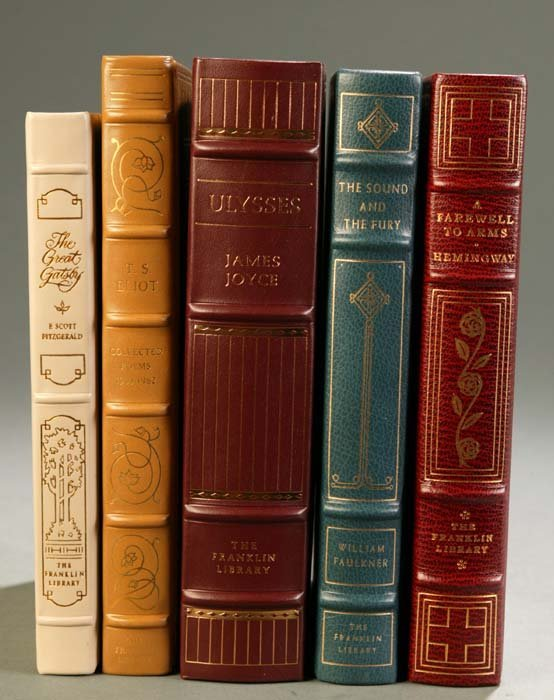 6: [Franklin Library]. 5 Titles 20th Century Literature