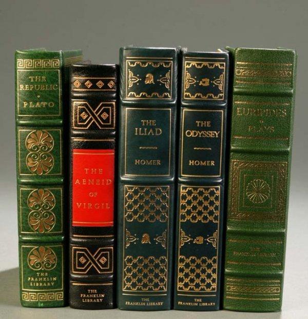 10: [Franklin Library]. 5 Titles Classics. Franklin Cen