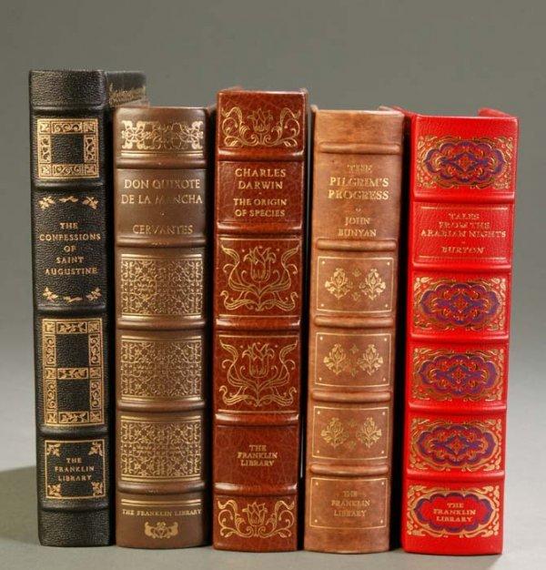 11: [Franklin Library]. 5 Titles Classics. Franklin Cen