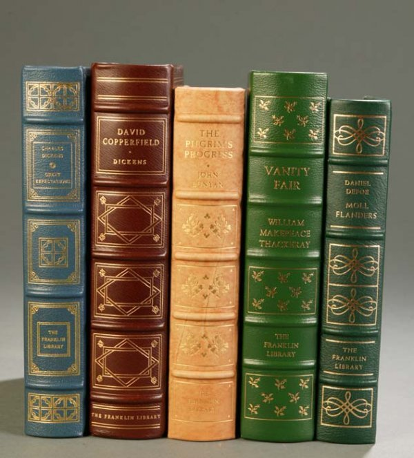 13: [Franklin Library]. 5 Titles English Literature. Fr