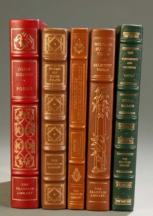 14: [Franklin Library]. 5 Titles English Literature. Fr