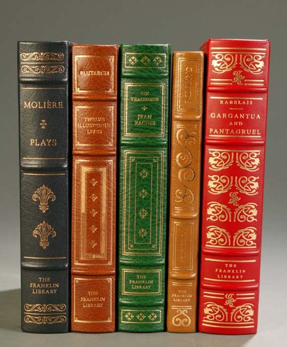 15: [Franklin Library]. 5 Titles European Literature. F