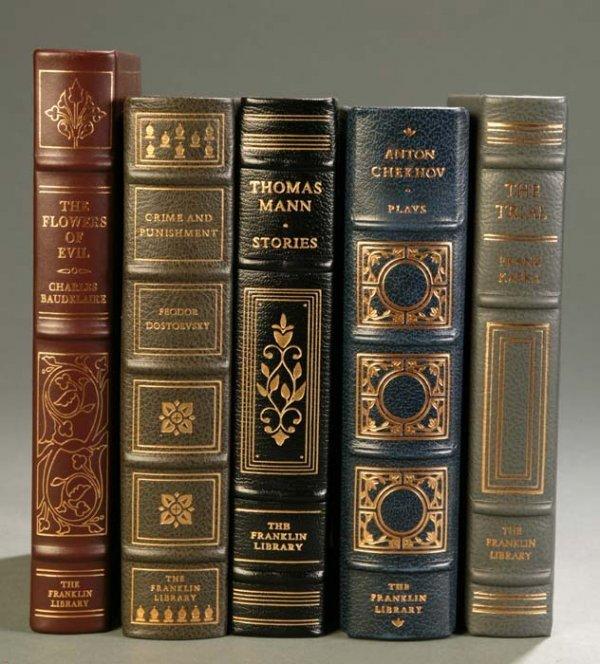 16: [Franklin Library]. 5 Titles European Literature. F