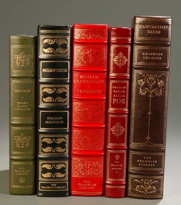 17: [Franklin Library]. 5 Titles Literature. Franklin C