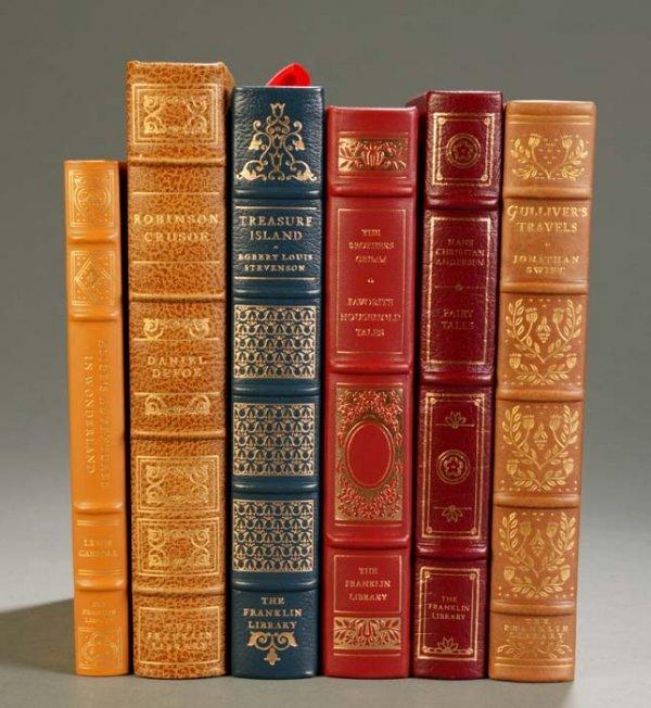19: [Franklin Library]. 6 Titles Children's Classics. F