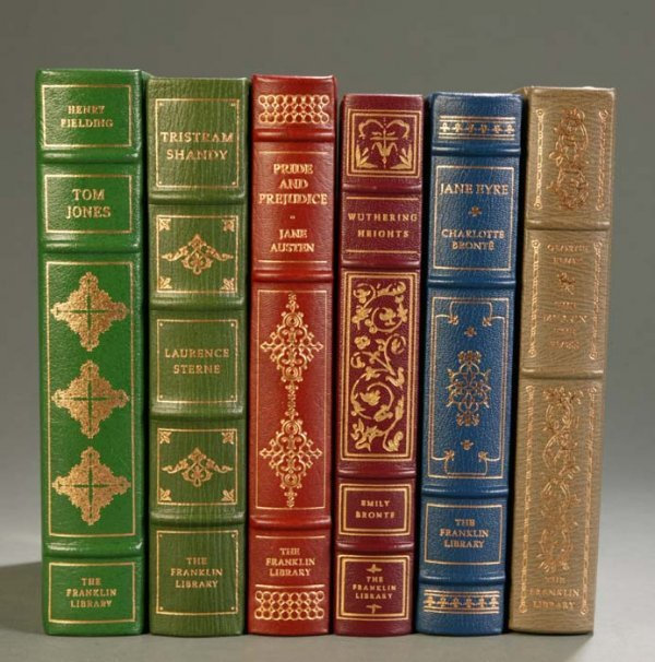 21: [Franklin Library]. 6 Titles English Literature. Fr