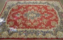Large Persian Kerman rug.