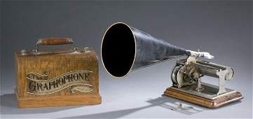 Columbia Graphophone, type G, 19th / 20th c.