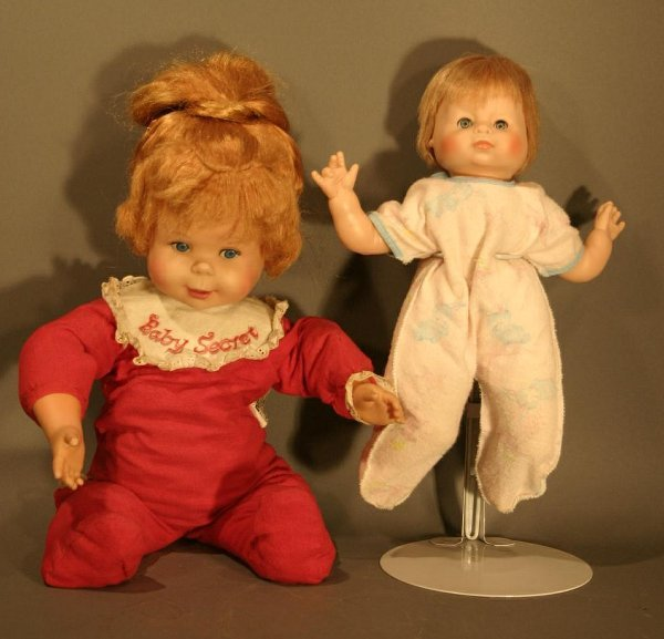 621: Baby Secret talking doll and musical baby that pla