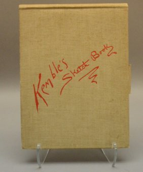 Kemble's Sketch Book. 1899. 1st Edition. 30 Plates