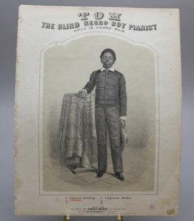 Blind Tom: Tom The Blind Negro Boy Pianist