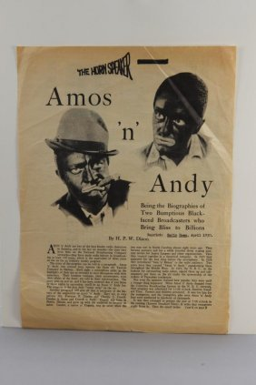 12 Items: Amos 'n' Andy, Great American Broadcast.