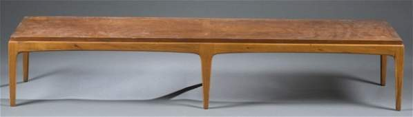 Mid-Century Modern table bench by Lane.