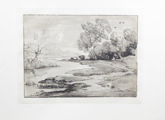 Group of 3 etchings/aquatints Thomas Gainsborough.
