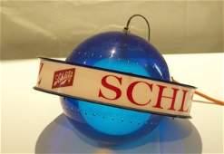 2 Light up beer signs - Schlitz & Miller Lite.