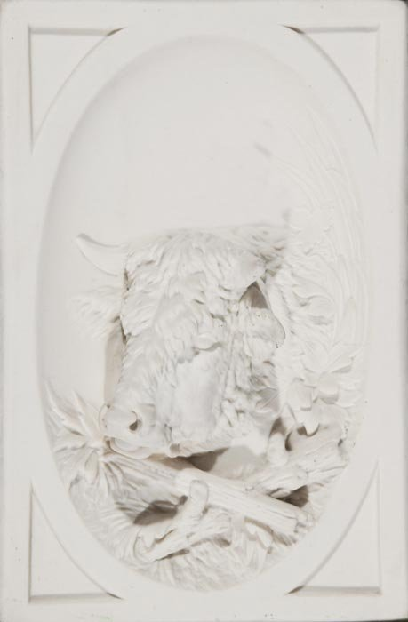 348: Pair of Parian ware framed wall plaques