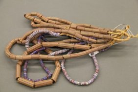 8 Strands Of Venetian Glass Trade Beads.