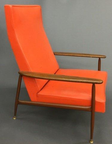 Mid-Century Modern Lounge Chair by Baumritter.